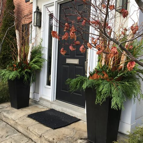 Front Door Plants For Winter