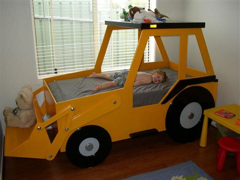 Front End Loader Bed Woodworking Plan