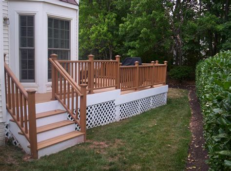 Front Porch Railing Plans