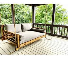 Best Front porch bed swings