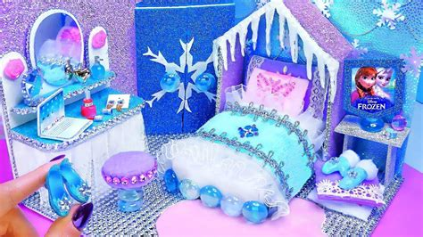 Frozen Diy Miniature Bedroom