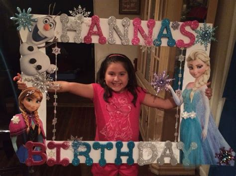 Frozen Picture Frame Diy