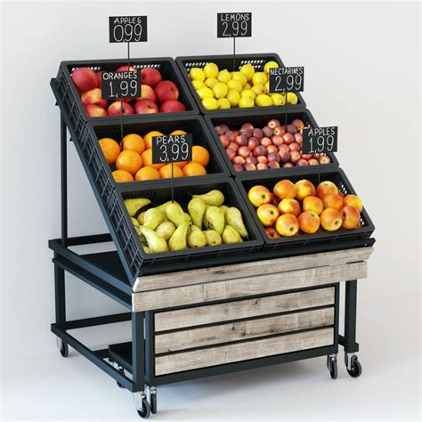 Fruit Rack Display