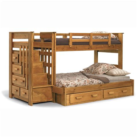 Full And Twin Bunk Bed Plans