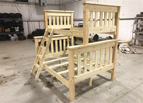 Full Over Twin Bunk Beds Plans