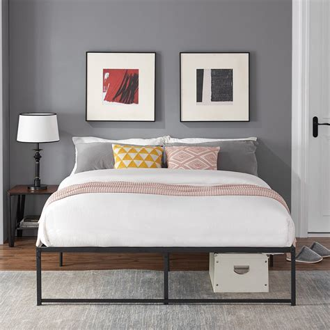 Full Platform Bed With Mattress Included