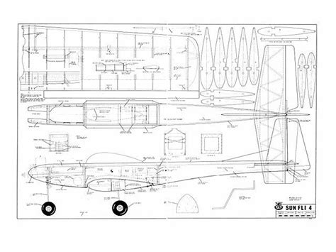 Full Size Plans Model Airplanes
