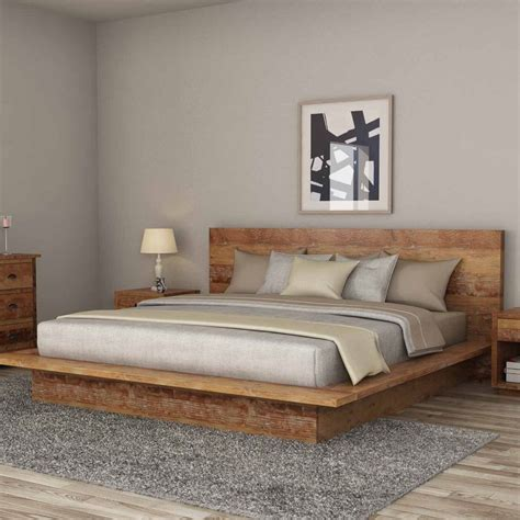Full Size Platform Bed Ideas