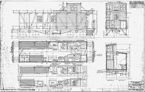 Full Size Wooden Caboose Plans