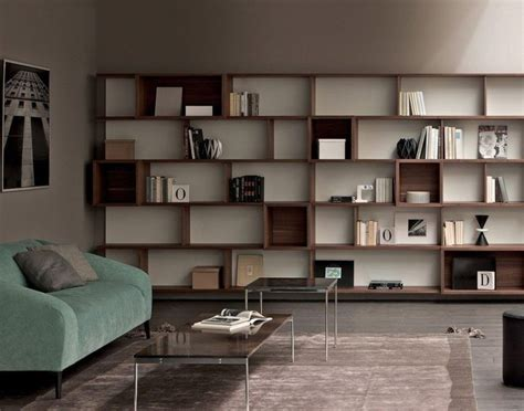 Full Wall Bookshelves Diy White