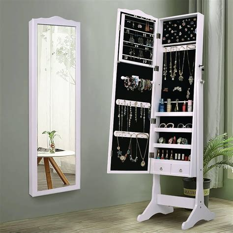 Full-Length-Mirror-Jewelry-Cabinet-Diy