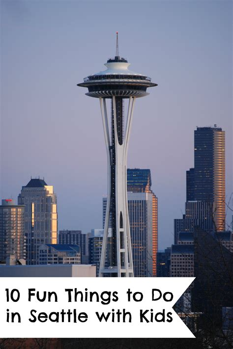 Fun Things To Do In Seattle With Kids