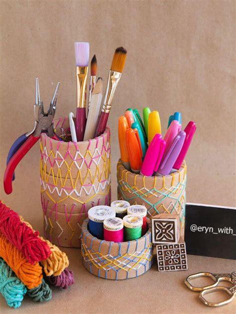 Fun-Pencil-Holders-For-Desk-Diy-Jars