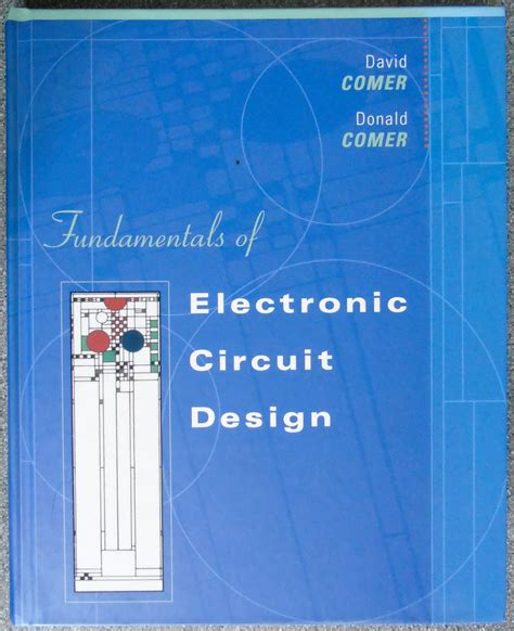 [pdf] Fundamentals Of Electronic Circuit Design.