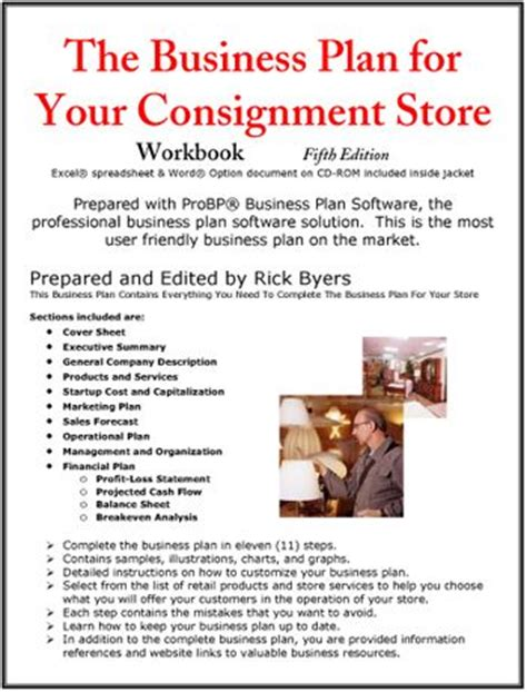 Furniture Consignment Store Business Plan