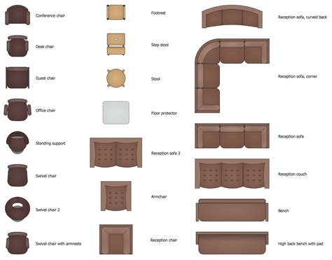 Furniture Layout Plan Office