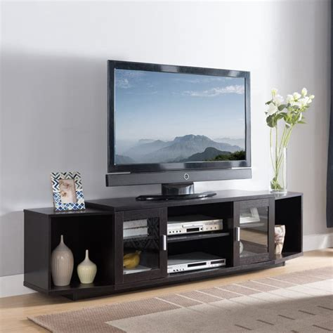 Furniture Of America Morenti Tv Stand 72-Inch Cappuccino