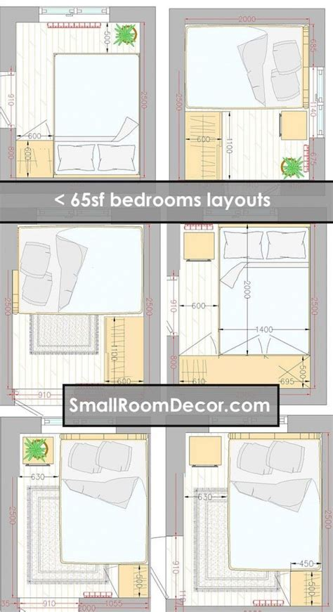 Furniture Plan For Small Bedroom
