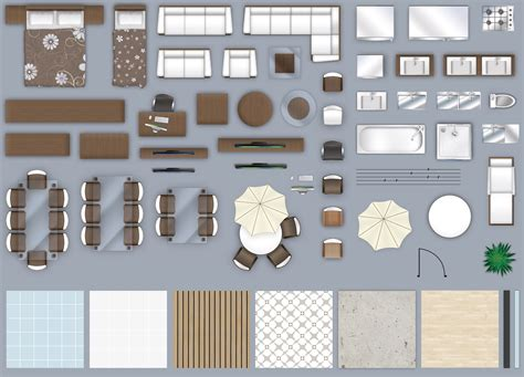 Furniture Plan View Png