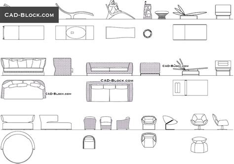 Furniture Plans Free Autocad