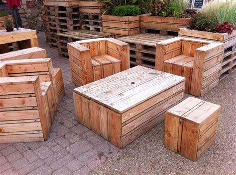 Furniture-Made-Out-Of-Wood
