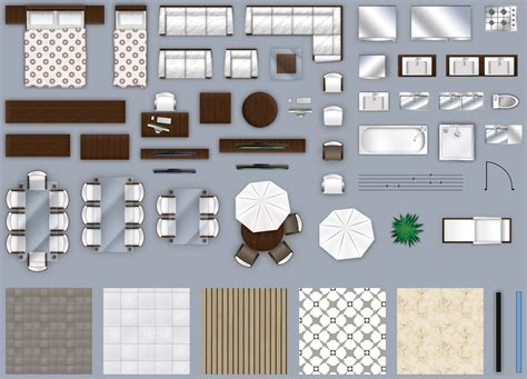 Furniture-Plan-View