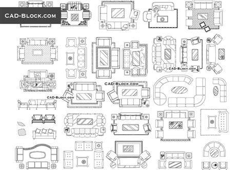 Furniture-Plan-View-Cad-Block