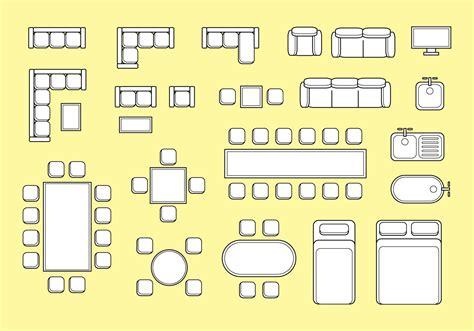 Furniture-Vectors-For-Floor-Plans