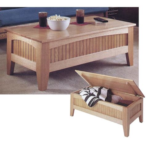 Futon Coffee Table Woodworking Plans