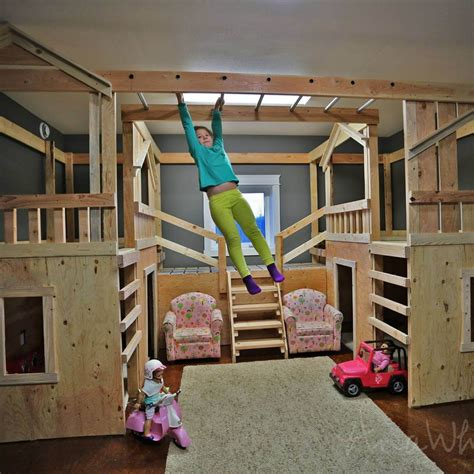 Futon Platform Diy Playhouse