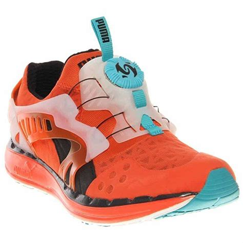 Future Disc Lite Translucent Mens in Tigerlily/Black/Bluebird by Puma