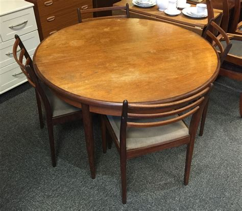 G Plan Round Dining Chairs
