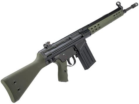 G3a3 Airsoft Rifle And How To Oil A Rifle