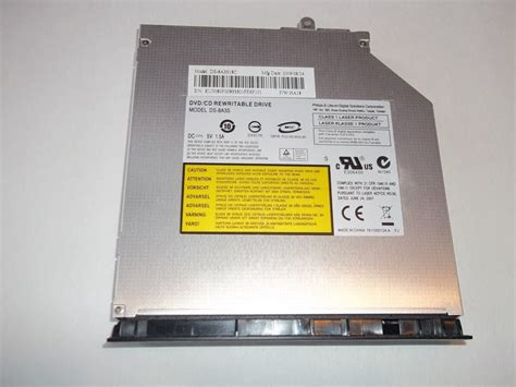 GATEWAY NV54 DVD/ CD REWRITABLE DRIVE WITH FACE PLATE DS-8.A3S. PC Parts Think over
