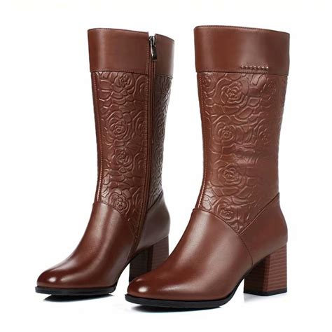 GB00169 Mid Calf Boot