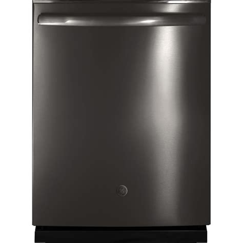 Ge Adora Top Control Dishwasher In Black With Stainless .