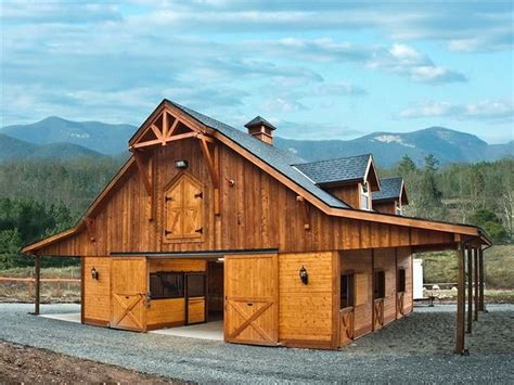 Gable Barn Homes Plans
