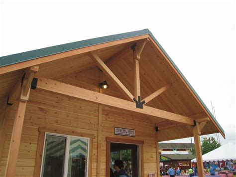 Gable Porch Roof Framing Plans