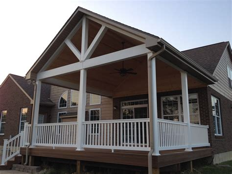 Gable Roof Over Deck Plans