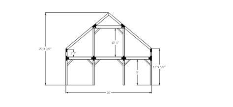 Gable-Barn-Plans