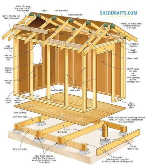 Gable-Roof-Barn-Plans