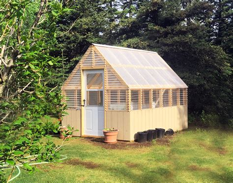 Gable-Roof-Greenhouse-Plans