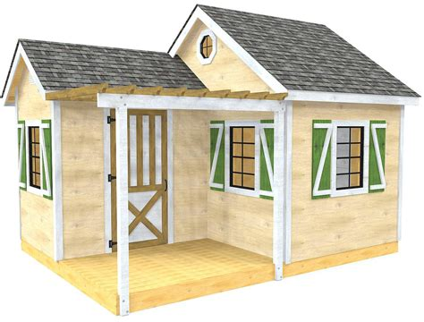 Gable-Style-Shed-Plans
