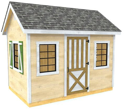 Gable-Style-Storage-Shed-Plans