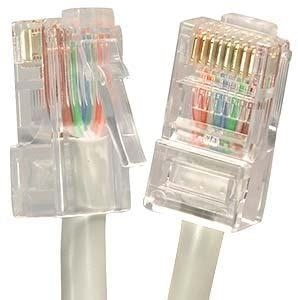 GadKo 150Ft Cat.5E Non-Boot Patch Cable Gray