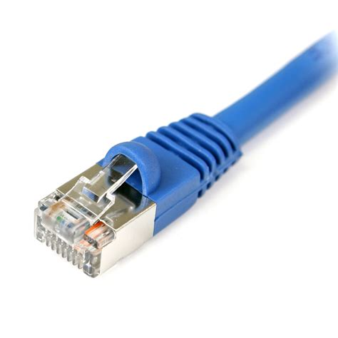 GadKo 50Ft Cat.5E Shielded Patch Cable Molded Black