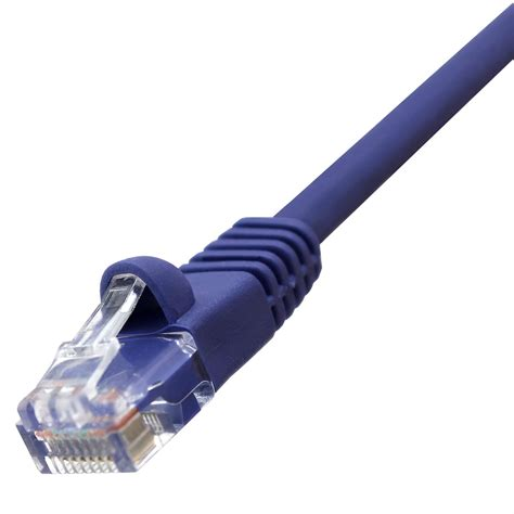 GadKo 75Ft Cat.5E Non-Boot Patch Cable White
