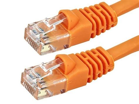 GadKo 75Ft Cat.5e Molded Snagless Patch Cable Orange
