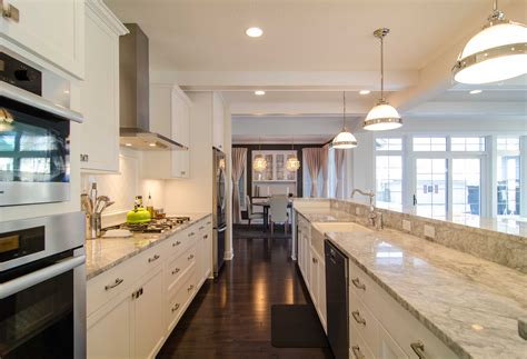 Galley kitchen designs layouts Image