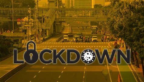 Gambar Kota Indonesia Lockdown